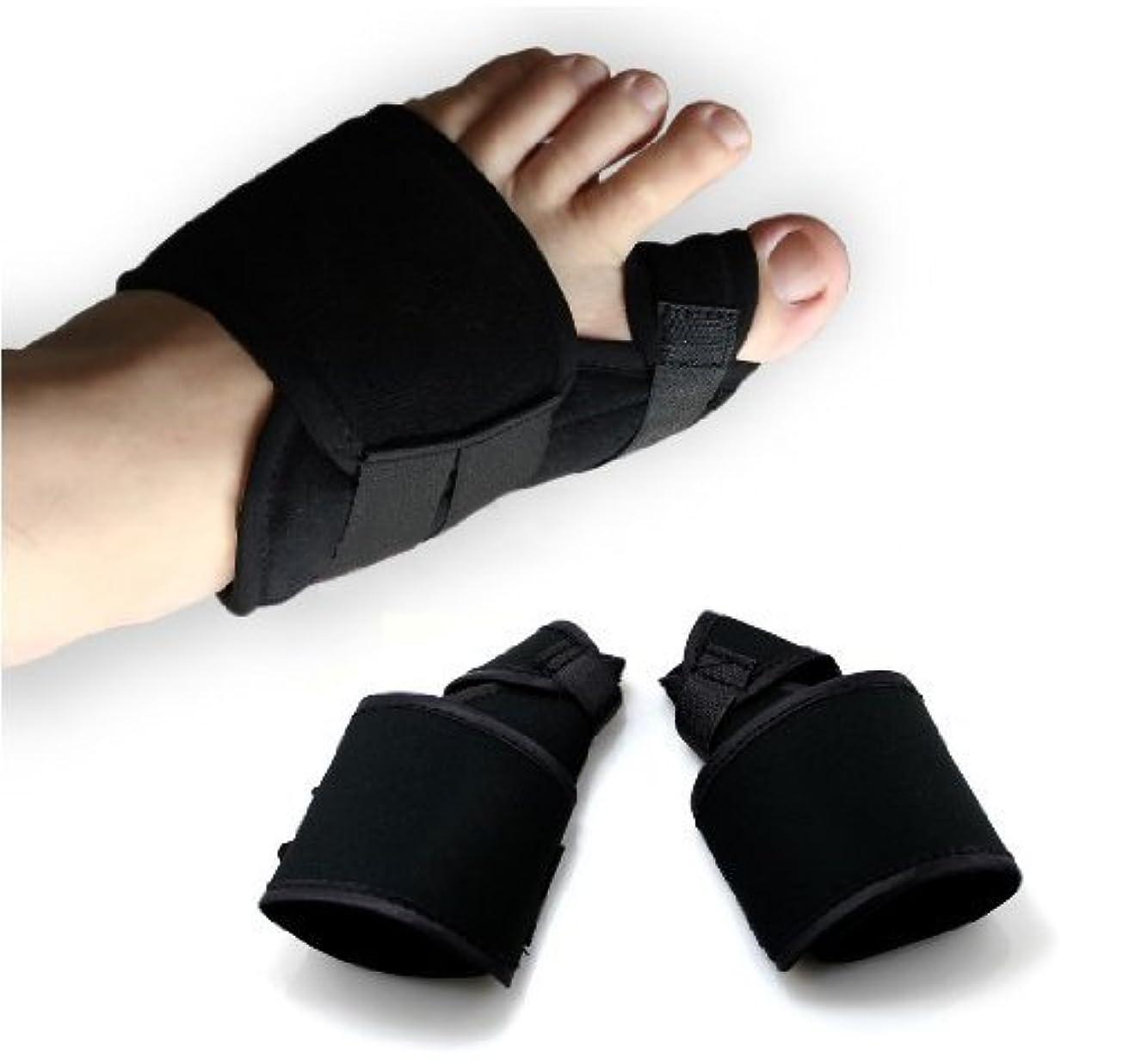 スカルク男らしい振りかけるUTOKY 外反母趾サポーター 両足セット 辛い痛みを抑える外反母趾サポーター