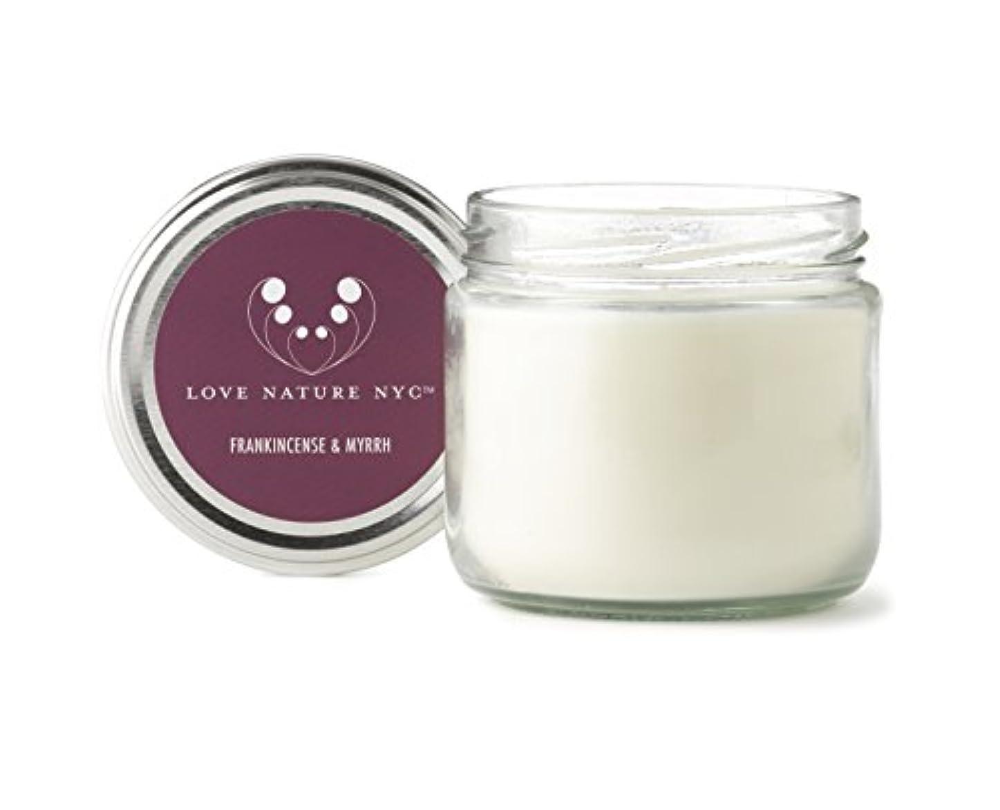石油うるさいしなければならない自然Soy Candle Jar、クリーン燃焼非毒性、完璧クリスマスや休日ギフト、Love Nature NYC 60 Hours Jar パープル