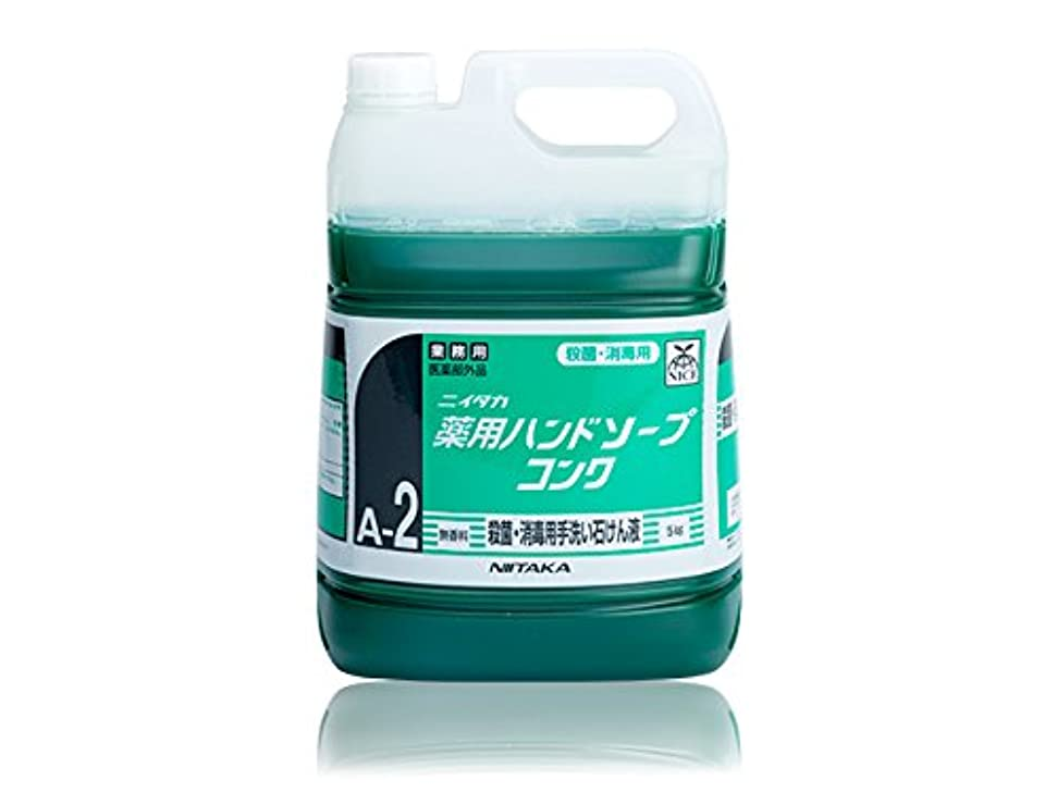 旅再現する適切な無香料 殺菌?消毒用手洗い石けん液 ニイタカ 薬用ハンドソープコンク 5KX3本