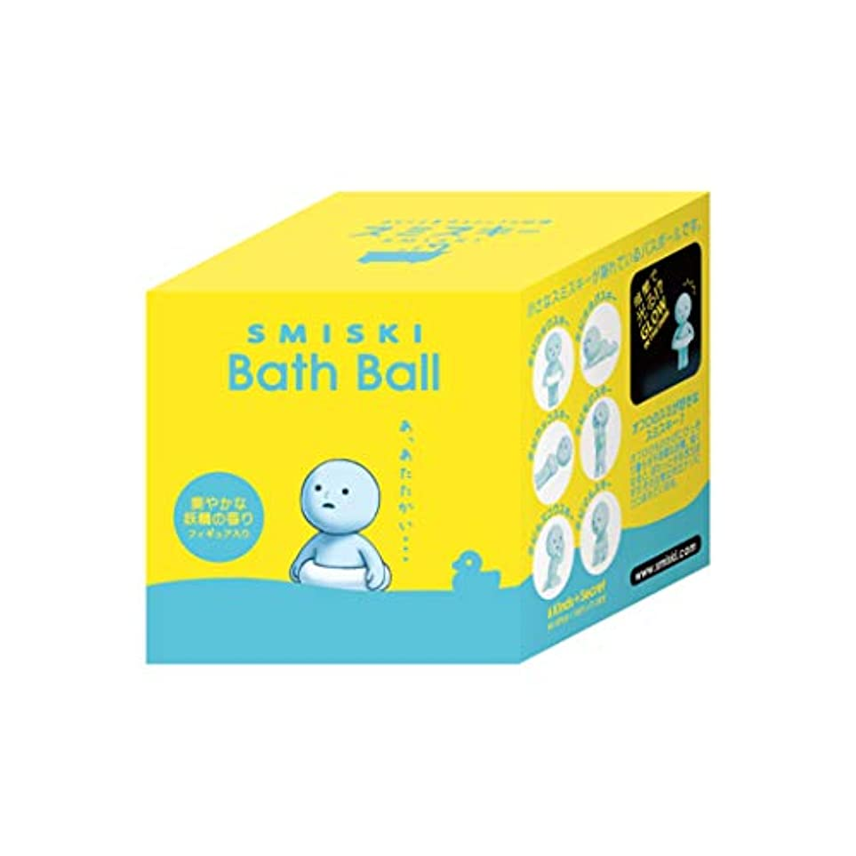 エネルギー滑りやすいもろいスミスキー 入浴剤 マスコットが飛び出るバスボール【1個】