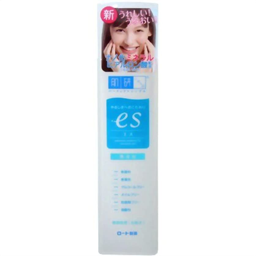 収縮カフェテリア名誉ある肌ラボ es(エス) ナノ化ミネラルヒアルロン酸配合 無添加処方 化粧水 170mL