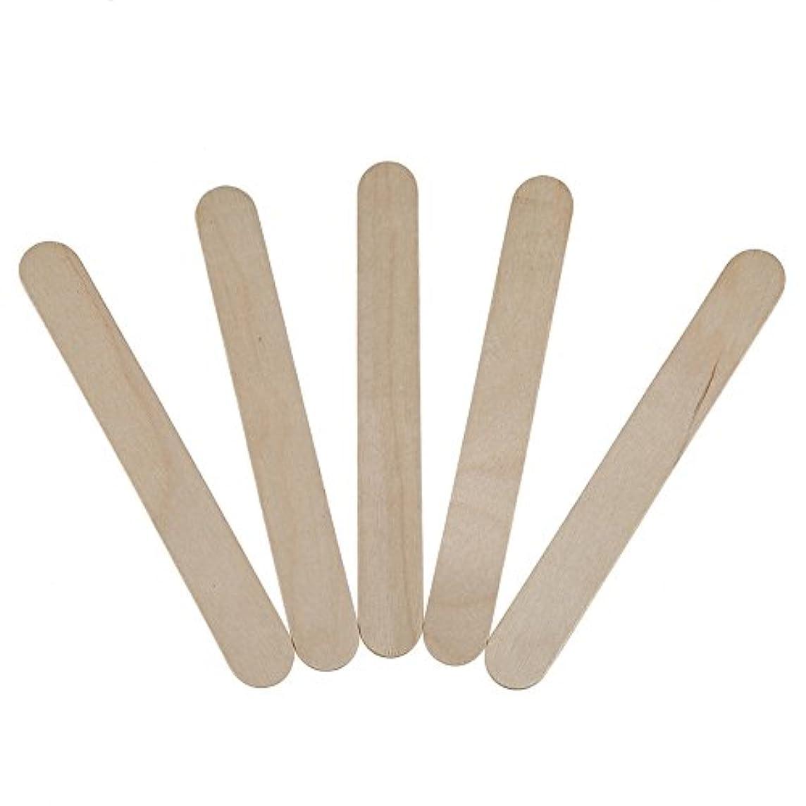 壮大な冷える量使い捨てワックススパター5本サロンヒーターワックススティック脱毛ホットワックスビーンスパチュラセット