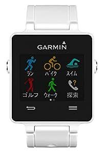 GARMIN(ガーミン) ランニング GPS 歩数 活動量計 vivoactive J ホワイト 【日本版正規品】 129707