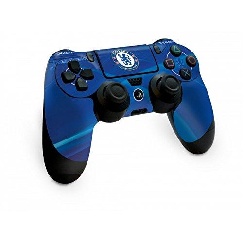 チェルシー フットボールクラブ Chelsea FC オフィシャル商品 PS4専用 コントローラー用 スキン 保護カバー (ワンサイズ) (ブルー)