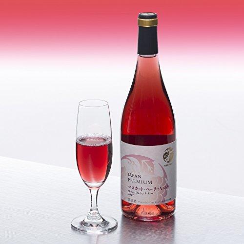 日本ワイン ジャパンプレミアム マスカット・ベーリーA ロゼ 750ml