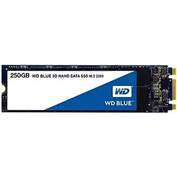 【国内正規代理店扱い】WD 内蔵SSD M.2-2280 / 250GB / WD Blue 3D / SATA3.0 / 5年保証 / WDS250G2B0B