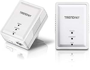 TRENDnet Powerline 500 AV Nano アダプターキット/ 500Mbps Compact Powerline AV Adapter Kit[TPL-406E2K]