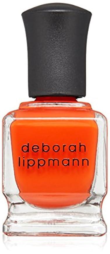 準備した冷える中断[Deborah Lippmann] デボラリップマン DON'T STOP BELIEVIN' ドント ストップ ビリービン 色:レッドオレンジ ネイルカラー系統:赤 15mL