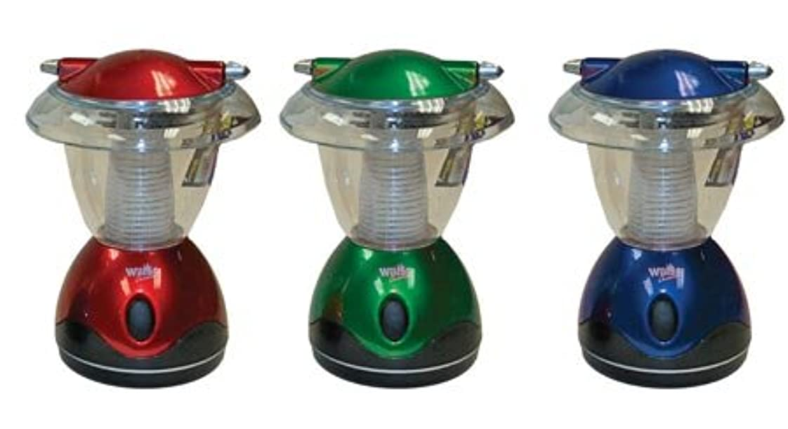 セージ鉄タイムリーなCompact 4-LED Camping Lantern, 6-inch (1-pc Random Color) 141[並行輸入]
