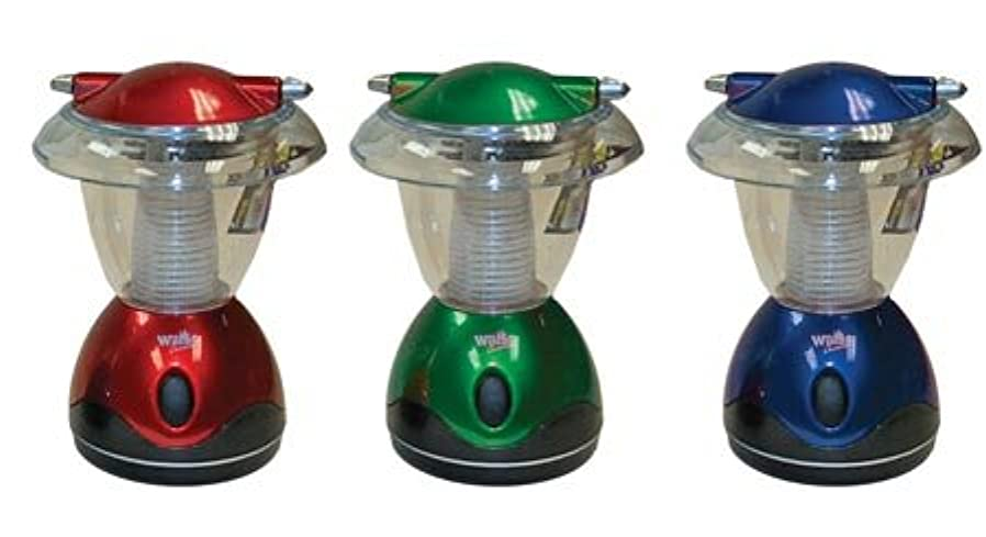 考古学チェスヒットCompact 4-LED Camping Lantern, 6-inch (1-pc Random Color) 141[並行輸入]