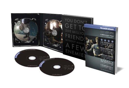 【Amazon.co.jp 限定】ソーシャル・ネットワーク デラックス・コレクターズ・エディション (2枚組) [Blu-ray]の詳細を見る