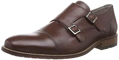 [クラークス] ビジネスシューズ メンズ ペントンモンク Mens Penton Monk(旧モデル) Chestnut Leather(チェスナットレザー/100)