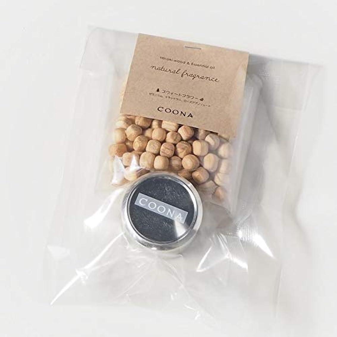 リスク味わう好色なヒノキ ウッド& エッセンシャルオイル ナチュラルフレグランス (メタル缶付き, スウィートフラワー)