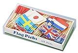 ヤマコー フラッグピック万国旗 各国混合 144本入 QBV05