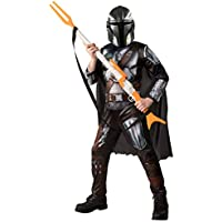 Rubie's Mandalorian Deluxe Costume - Size 9-10 Black