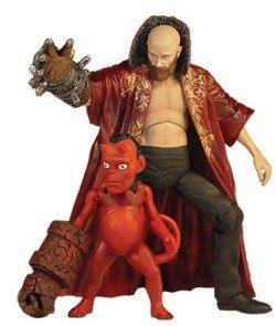 Hellboy Movie Series Rasputin & Baby Hellboy Figure フィギュア 2-Pack by Mezco [並行輸入品]