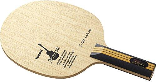 ニッタク(Nittaku) 卓球 ラケット アコースティック LG シェークハンド 攻撃用 5枚合板