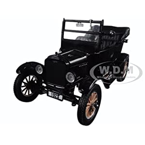 1925 Ford Model T Touring Open Top Black 1/24 Diecast Car Model by Sunstar サイズ : 1/24 [並行輸入品]