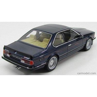 BMW アルピナ ミニカー 1/18 OTTO-MOBILE - BMW - 6-SERIES ALPINA B7 BI-TURBO COUPE 1985 BLUE MET