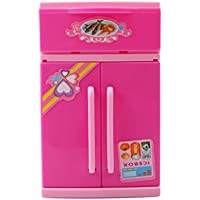 Honel ミニ 冷蔵庫 おもちゃ ごっこ遊び物 ままごと まるで本物みたいで只冷蔵できない