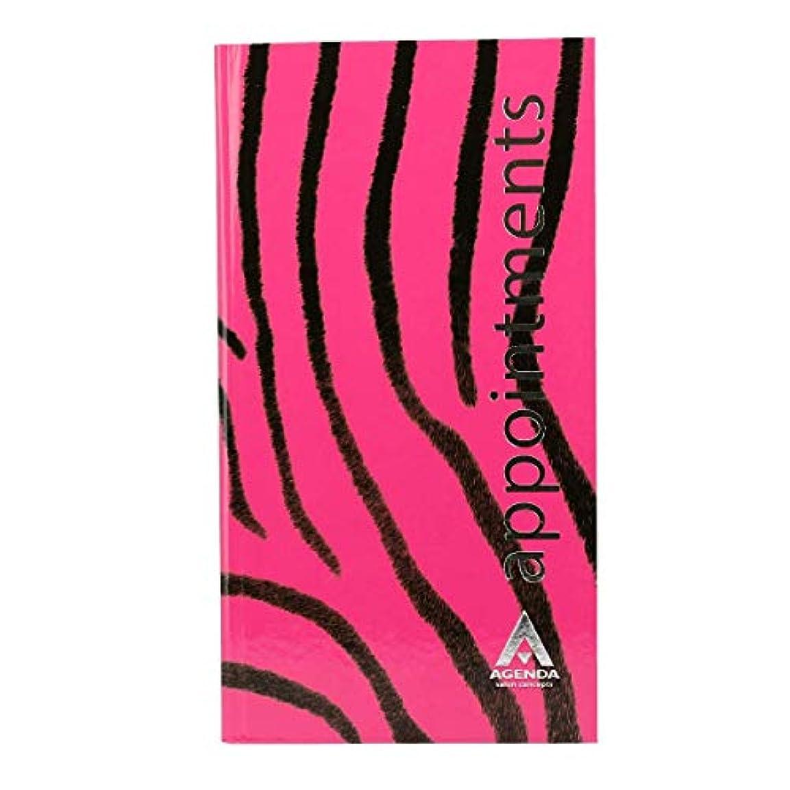 大神経障害シートアジェンダ サロンコンセプト 美容アポイントメントブック3アシスタントピンクゼブラ[海外直送品] [並行輸入品]