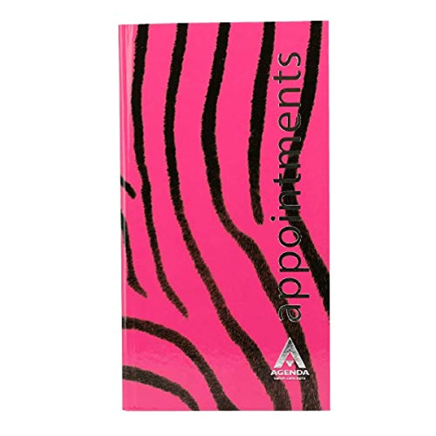 朝の体操をする落ち着く等アジェンダ サロンコンセプト 美容アポイントメントブック3アシスタントピンクゼブラ[海外直送品] [並行輸入品]