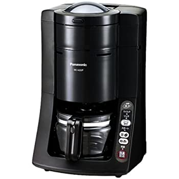 パナソニック 沸騰浄水コーヒーメーカー 容量5カップ ブラック NC-A55P-K
