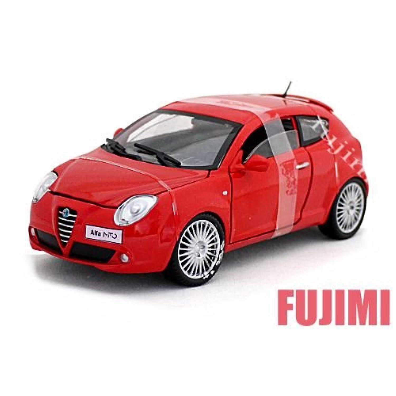 Alfa Romeo MiTo red 1/24 MOTOR MAX 【 アルファ ロメオ スーパーカー モーターマックス ミト ミニカー 赤】