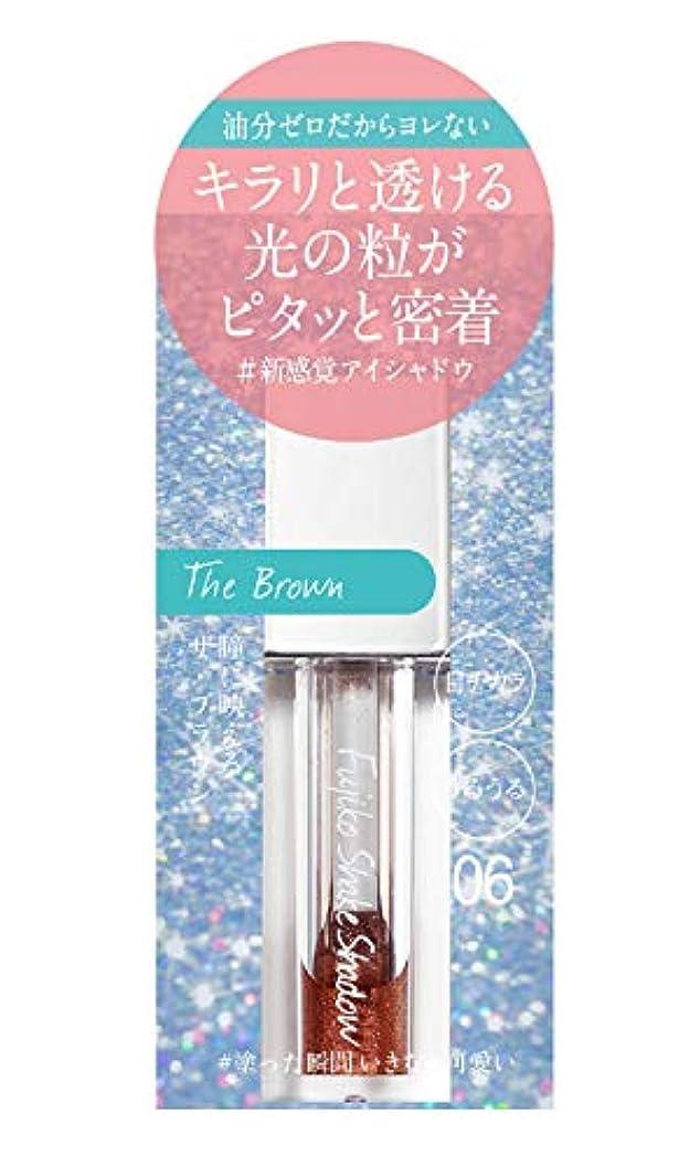 なめる解凍する、雪解け、霜解け高潔なフジコ シェイクシャドウ 06 THE ブラウン 5g