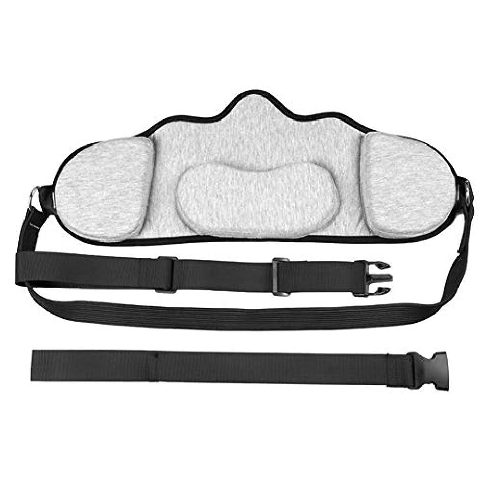 不安定な吹きさらしホステル2パック耐久性のあるポータブル首牽引&リラクゼーションハンモック、オフィスワーカーのドライバーのためのセルフマッサージャーと肩の痛みサポーターを持つ人はリラックスデバイス