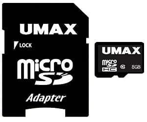 UMAX MicroSDHC Class10 8GB UM-MCSDHC-C10-8G