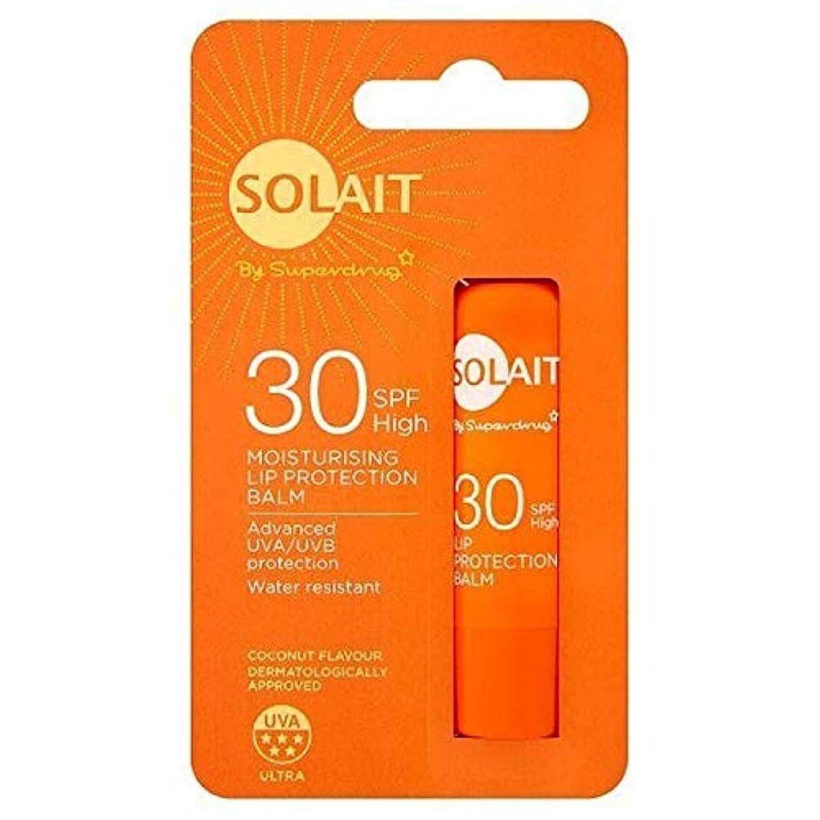 いたずら狐縞模様の[Solait] SolaitリッププロテクタースティックSpf30の4,8G - Solait Lip Protector Stick SPF30 4,8g [並行輸入品]