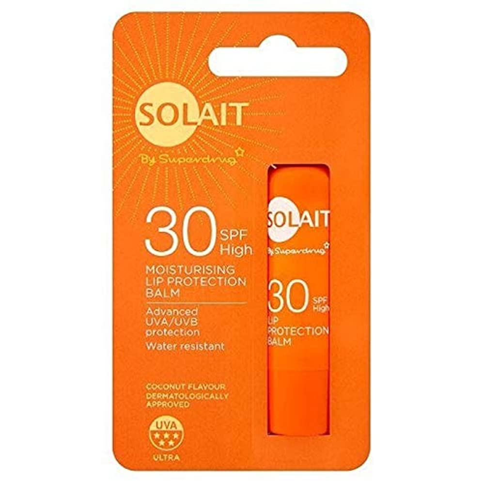 混乱露シェルター[Solait] SolaitリッププロテクタースティックSpf30の4,8G - Solait Lip Protector Stick SPF30 4,8g [並行輸入品]