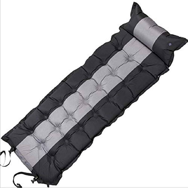 箱多年生死ぬエアーマット キャンプマット キャンピングマット エアーベッド 自動膨張 連結可能 テント泊 車中泊 耐水加工 アウトドア キャンプ 寝袋 枕が付き 家族旅行