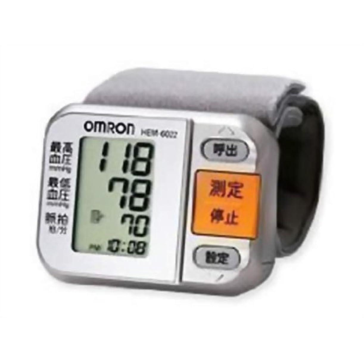 無駄にファンシー消えるオムロン 電子血圧計 手首式 HEM-6022