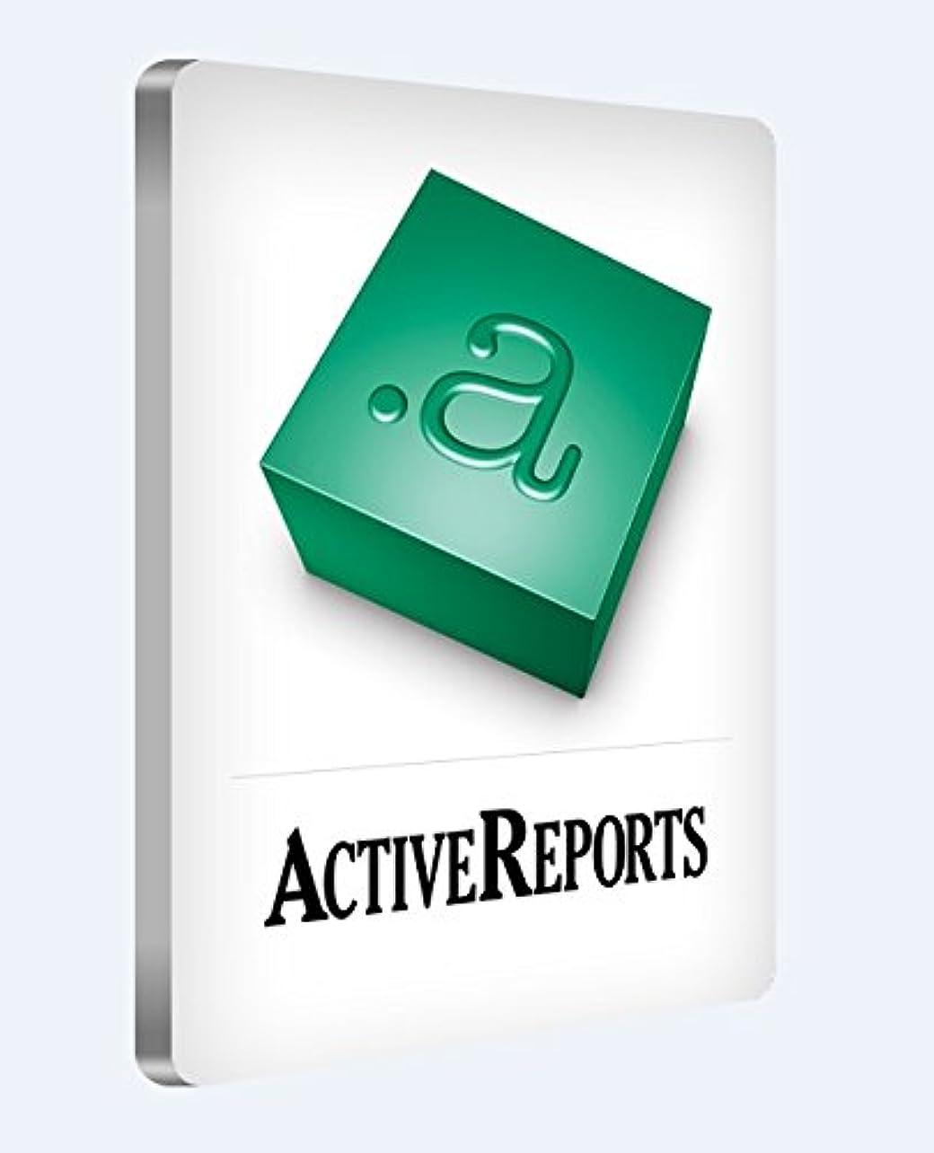 ActiveReports for .NET 9.0J Standard(日本語版)1開発ライセンス+バックアップDVD