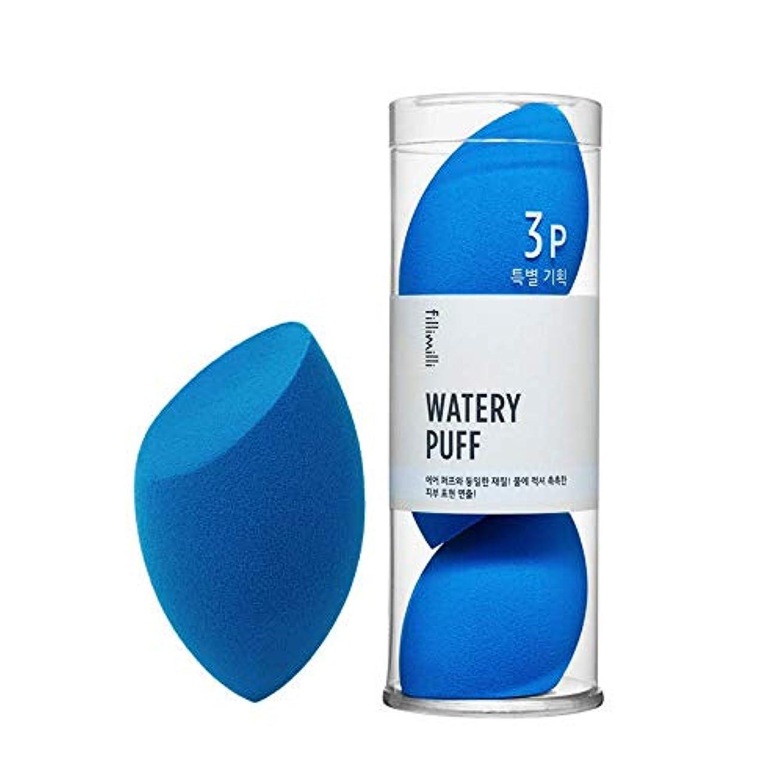 スカイトリップ編集者fillimilli Make-up Sponge Watery Puff 3P SET しっとりパフ (チョクチョクパフ) 3個セット (Olive Young) [並行輸入品]