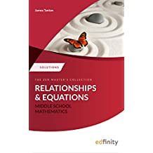 Solutions Manual - Relations and Equations (Middle School Mathematics)