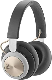 Bang & Olufsen Beoplay H4 Wireless Over-Ear Headphones, Leather Bluetooth Headphones, Charcoal