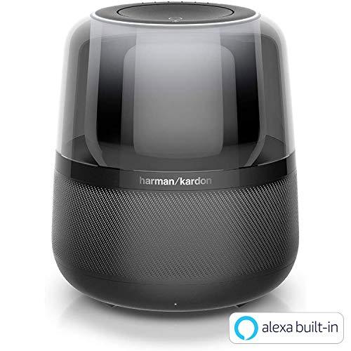 Harman Kardon ALLURE アルーア スマートスピーカー Amazon Alexa搭載/Bluetooth対応 ブラック HKALLUREBLKJN【国内正規品】
