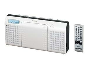 SONY CDラジオ E70 ホワイト ZS-E70/W
