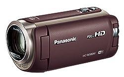 Panasonic HDビデオカメラ W580M 32GB ワイプ撮り 高倍率90倍ズーム ブラウン HC-W580M-T