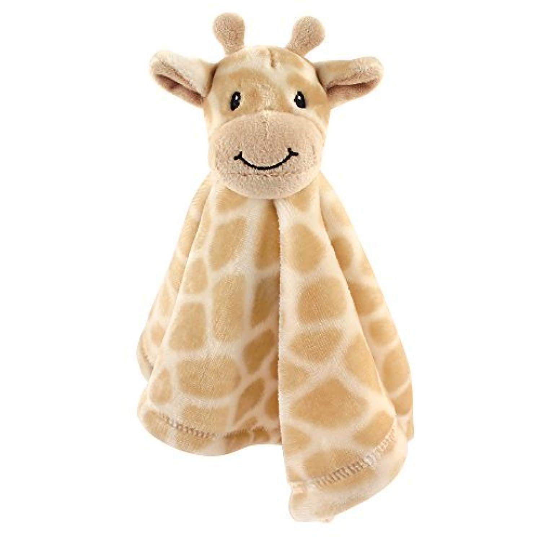 Hudson Baby Animal Friend Plushy Security Blanket Giraffe [並行輸入品]