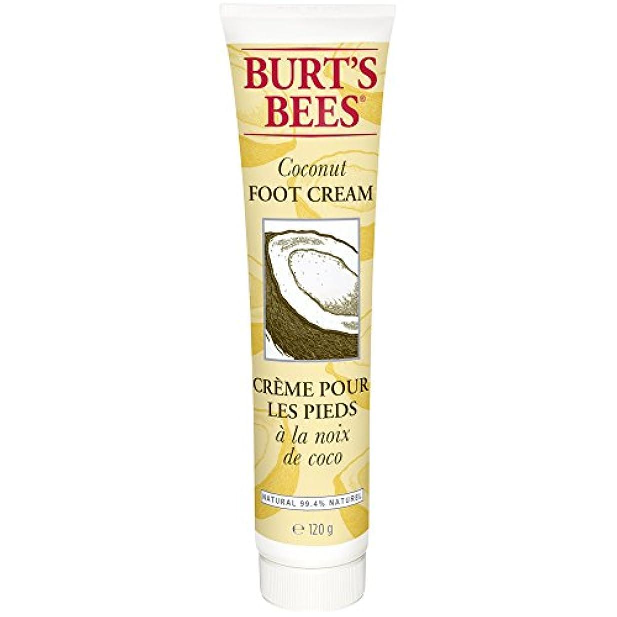 バンジージャンプ摘む俳句バーツビーのココナッツフットクリーム123グラム (Burt's Bees) - Burt's Bees Coconut Foot Creme 123g [並行輸入品]