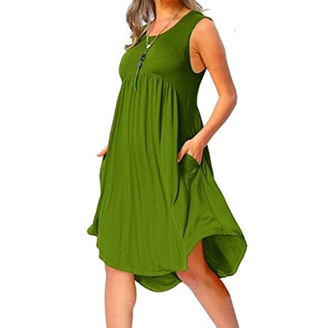 タワーミニ軍団MIFAN の女性のドレスカジュアルな不規則なドレスルースサマービーチTシャツドレス