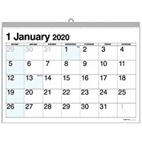 壁掛カレンダー【2020年 1月始まり】B3 ブルーポイント CK-01