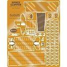 パラグラフィックス<PGX140> メビウスモデル 1/144 スペースクリッパー専用ディテールアップエッチングパーツセット