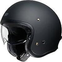 ショウエイ(SHOEI) バイクヘルメット ジェットJ・O マットブラック L (頭囲 59cm)