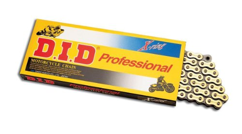D.I.D(大同工業)バイク用チェーン 軽圧入クリップジョイント付属 520VX2-108FB STEEL(スチール) X-リング 二輪 オートバイ用