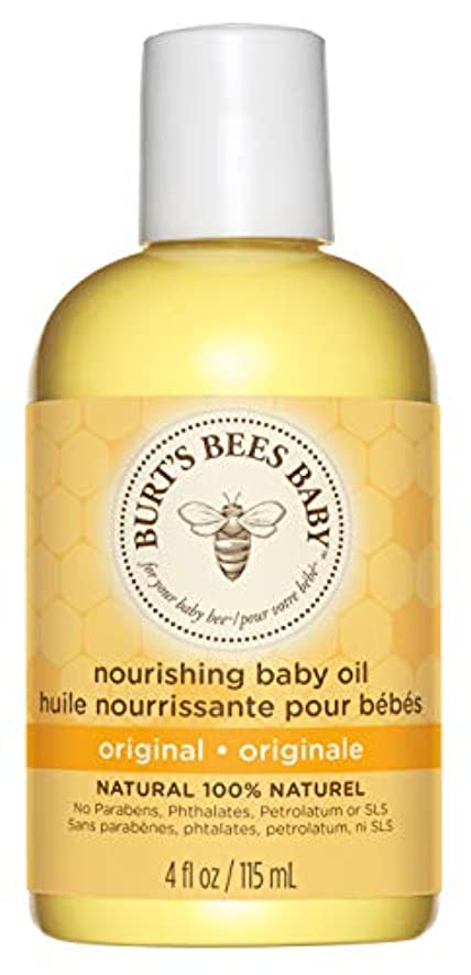 モザイク説明する時間厳守Burts Bees Baby Bee Nourishing Oil 4 fl oz/Burts??????????????????4?????